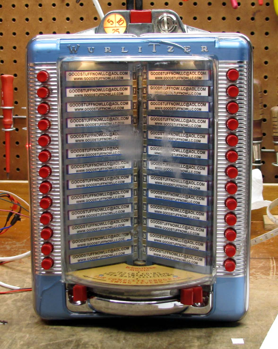 Jukeboxes Parts, Manuals & Accessories FREE PLAY UNIT for ...