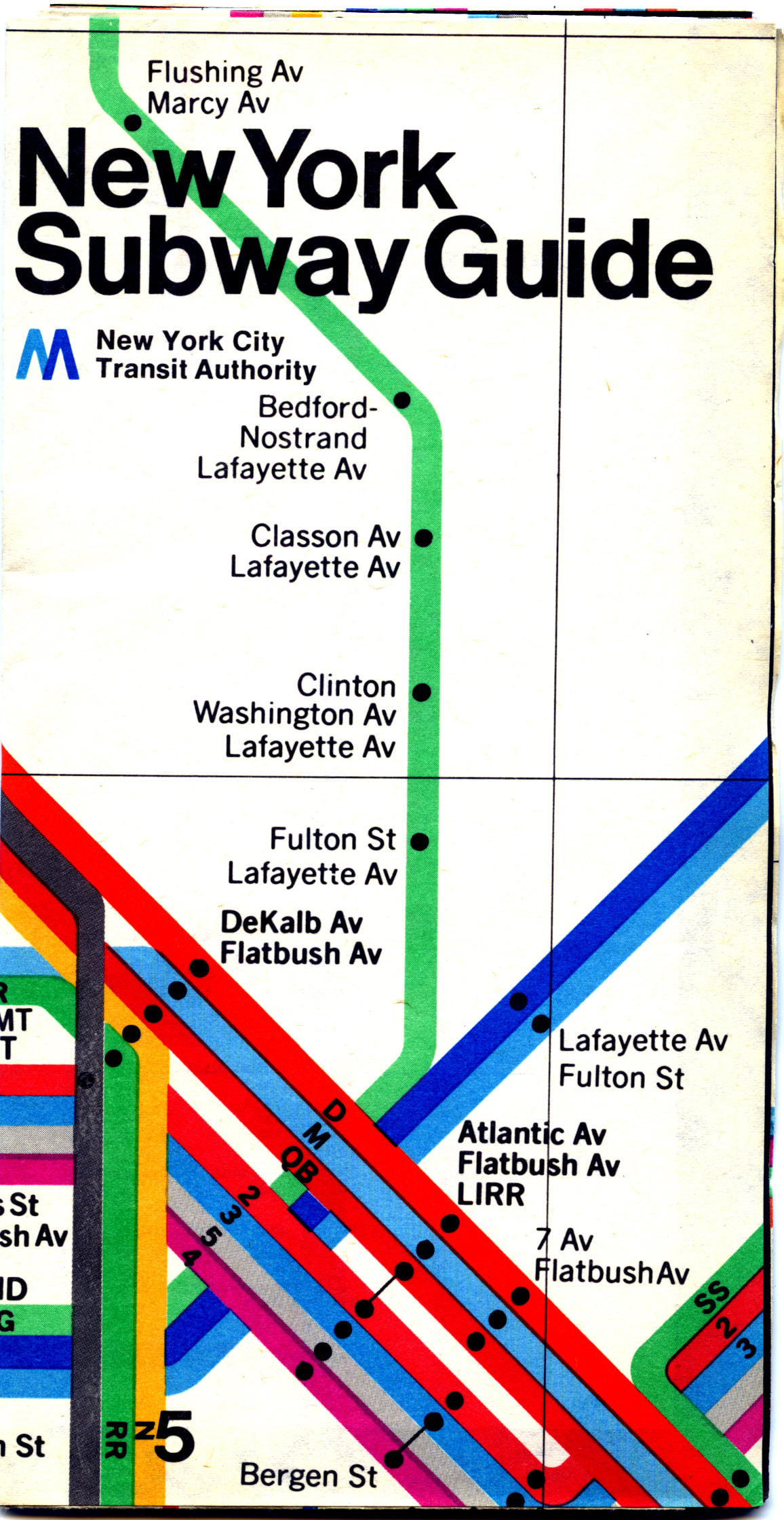 Massimo Vignelli Subway Map 1978.1974 4169 Goodstuffnowllc